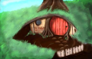 Hobbit Hole - Quick Paint
