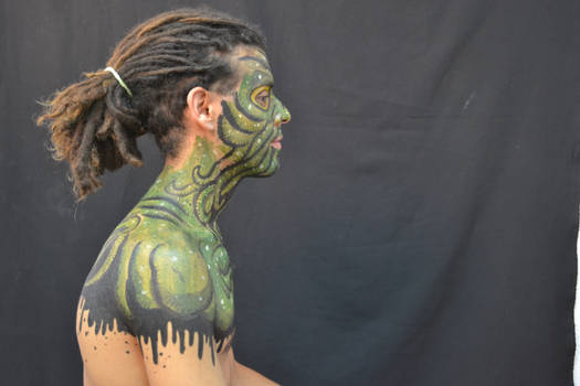 cthulhu bodypainting final rigth