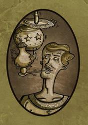 retrato malabarista by vannin