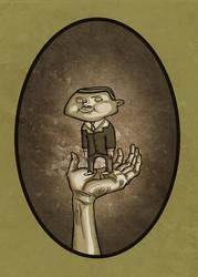 retrato hombre diminuto (RAMONCIN) by vannin