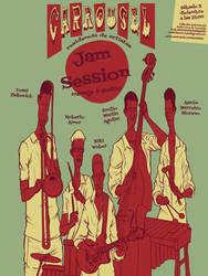 Carrousel poster jam session
