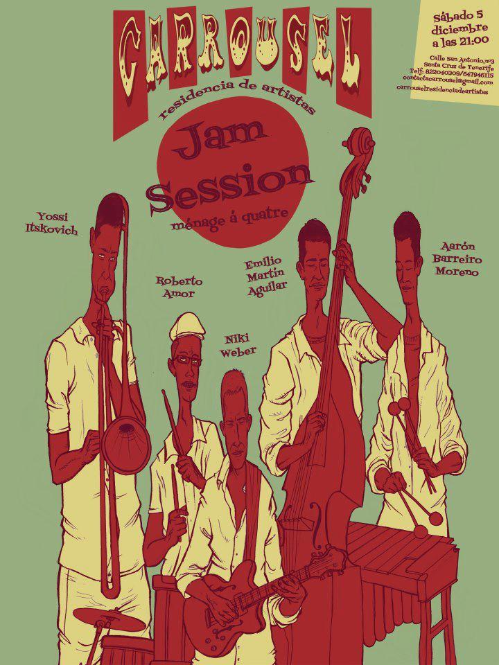 Carrousel poster jam session by vannin