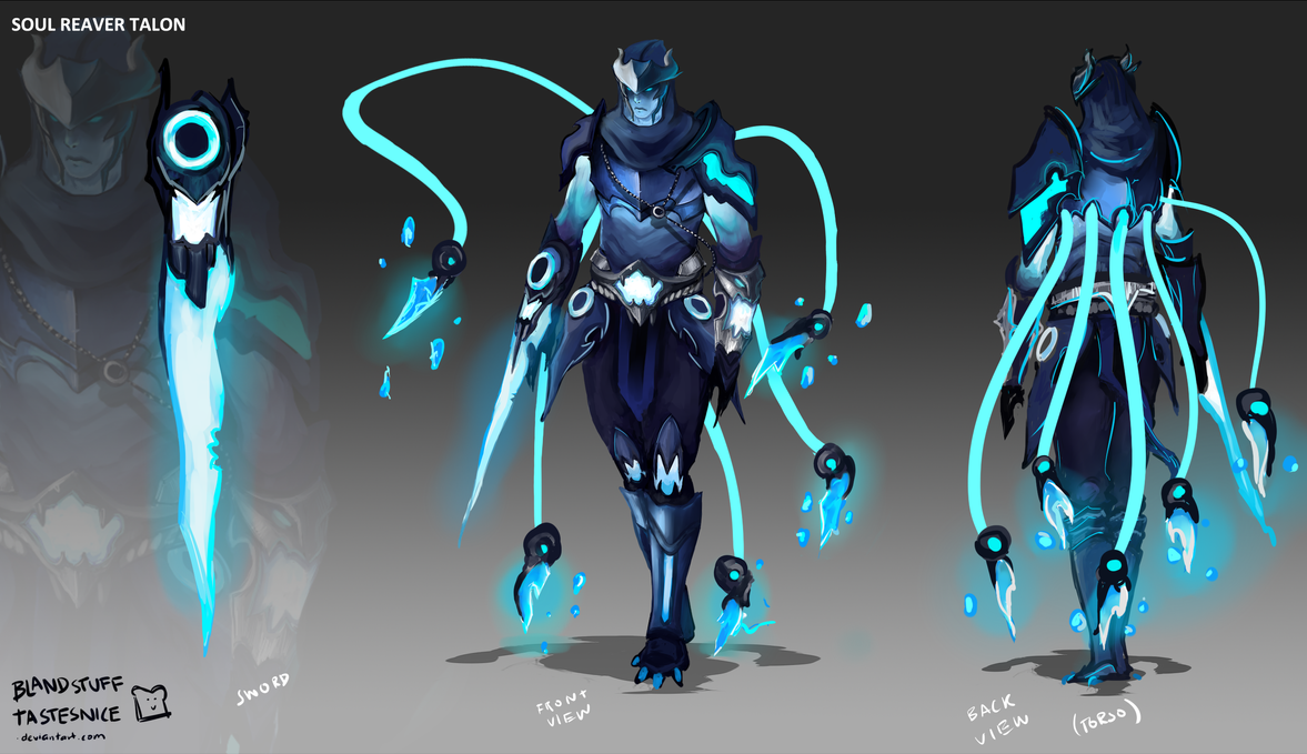 Why Isn T The Soul Reaver Skin Line Continued