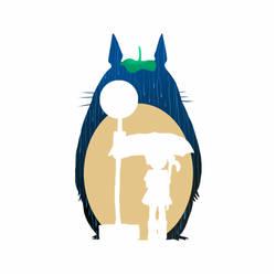 Totoro by BlandStuffTastesNice
