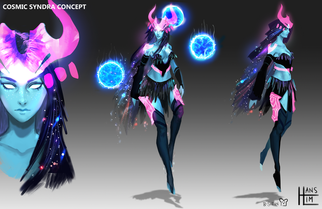 Cosmic Syndra by BlandStuffTastesNice