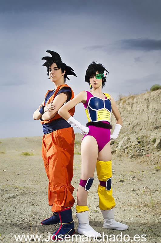Goku and Seripa by Nebulaluben