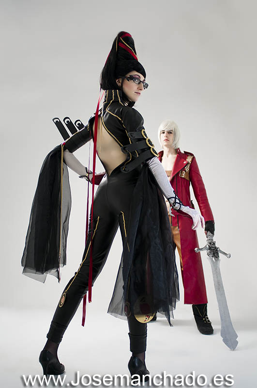 Dante and Bayonetta III by Nebulaluben