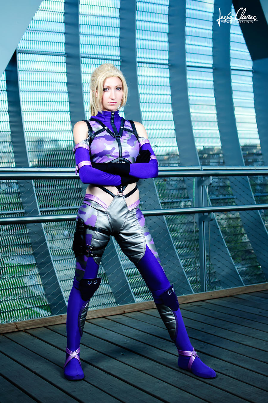 Nina Williams by Nebulaluben