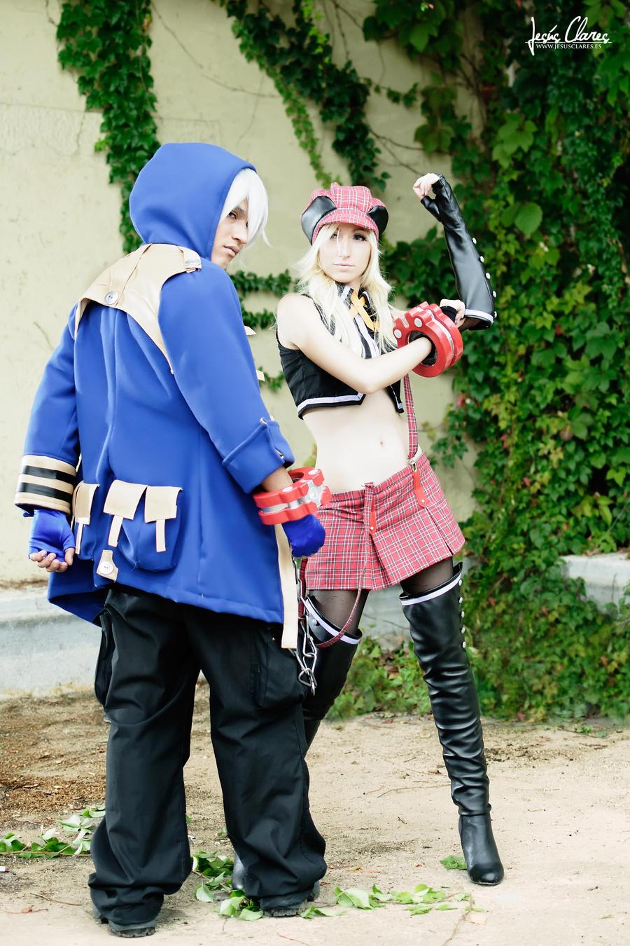 Soma and Alisa I by Nebulaluben