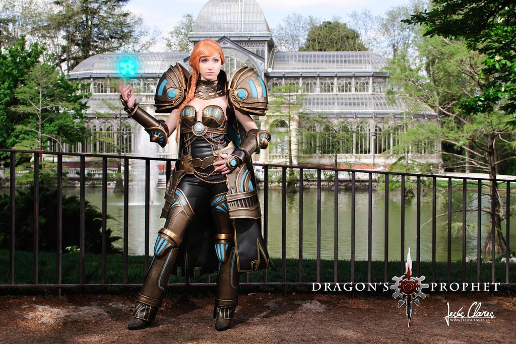 Dragon's Prophet Dark Steel Armor by Nebulaluben