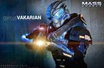 Garrus Vakarian cosplay