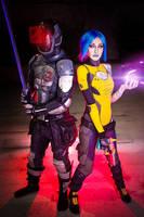 Zer0 and Maya by Nebulaluben
