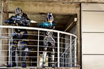 Mass Effect  - Garrus and Tali cosplay