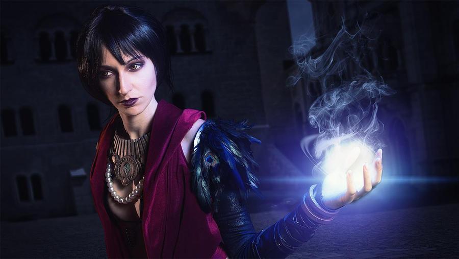 Morrigan cosplay by Nebulaluben