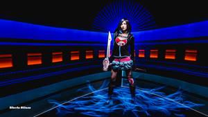 Decker Specialist cosplay lightpainting