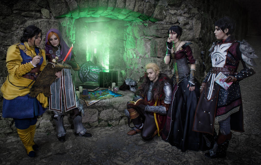 Dragon Age Inquisition Cosplay By Nebulaluben On Deviantart