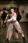 Rey cosplay