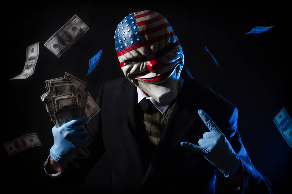 Payday cosplay by Nebulaluben