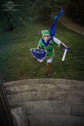 Link cosplay by Nebulaluben