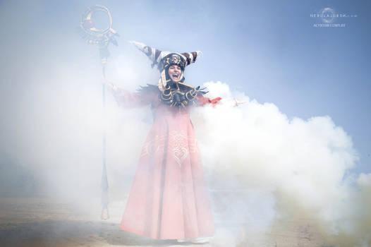Rita Repulsa cosplay