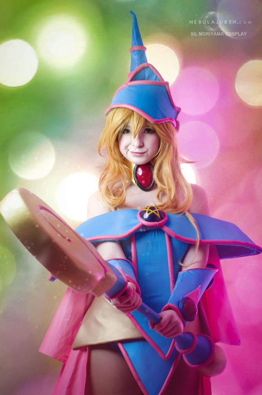 Dark Magician Girl cosplay 2 by Nebulaluben