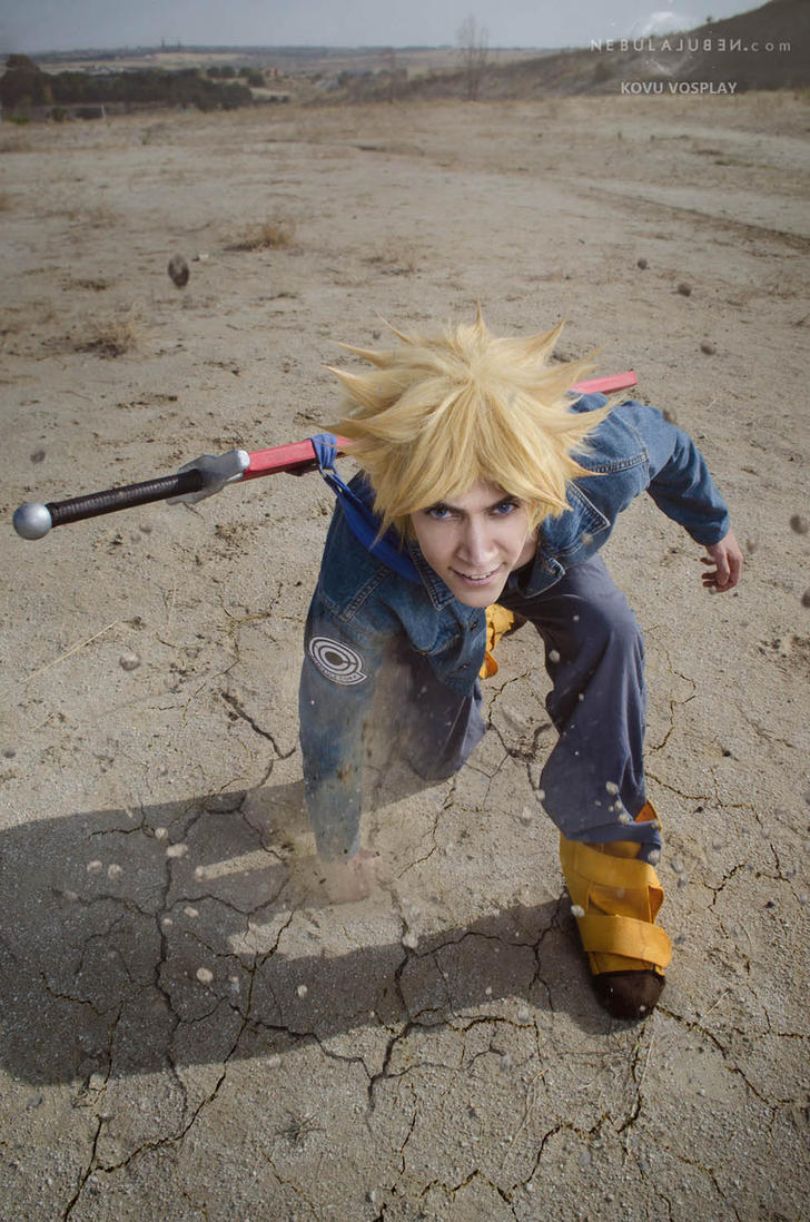 Trunks cosplay by Nebulaluben
