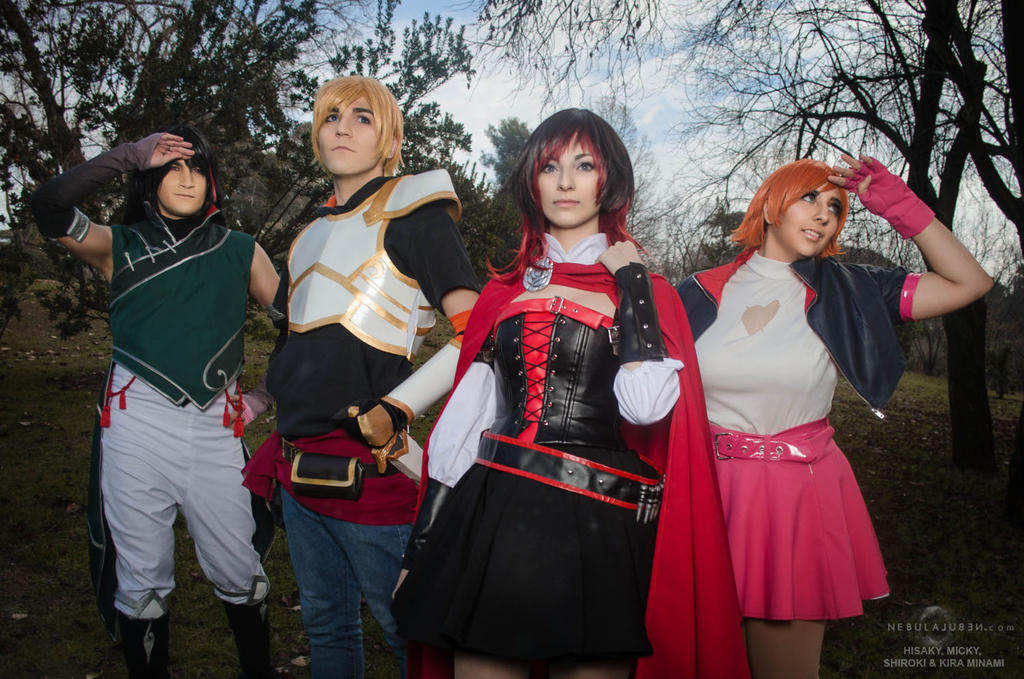 RWBY cosplay by Nebulaluben
