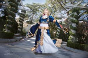 Zelda cosplay by Nebulaluben