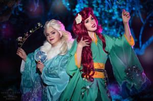 Disney yukata cosplay
