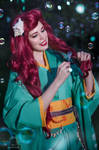 Ariel yukata cosplay