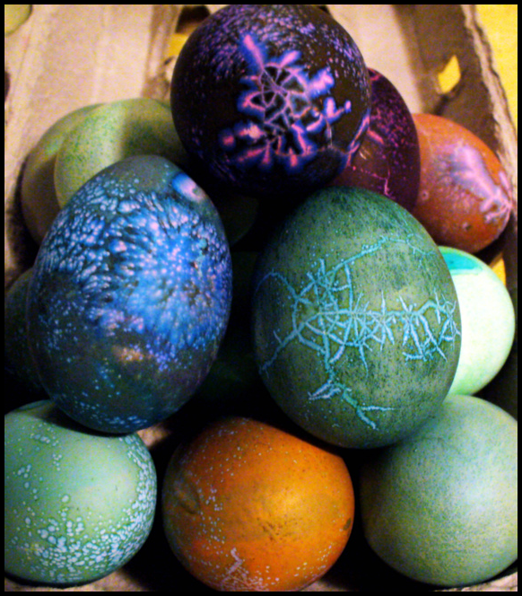 Farbanje jaja kao umetnost Easter_Eggs_by_kylarynn