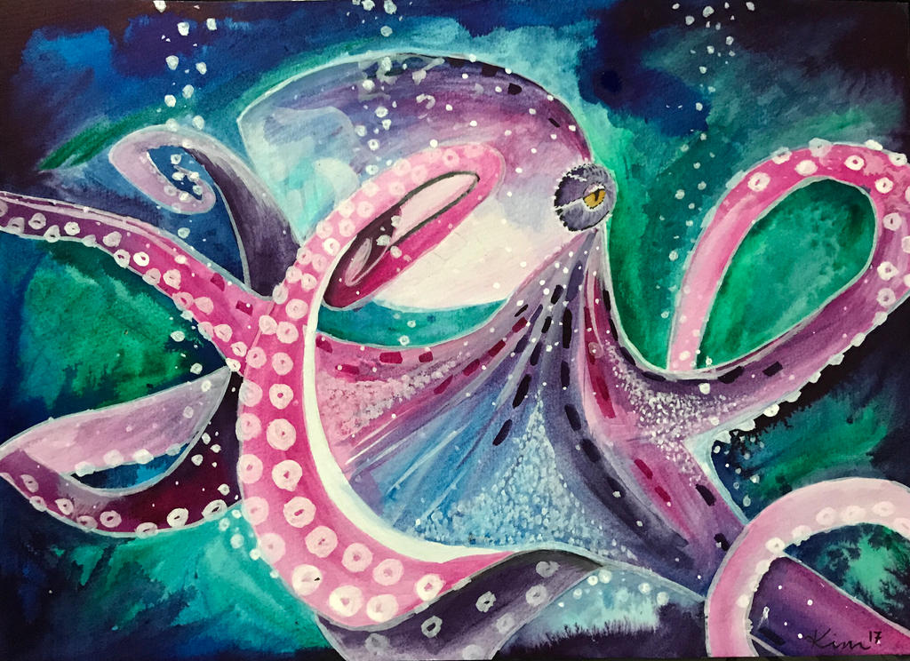 Octopus  by Kimberlil