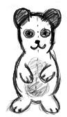 Panda thing by Lunarfish