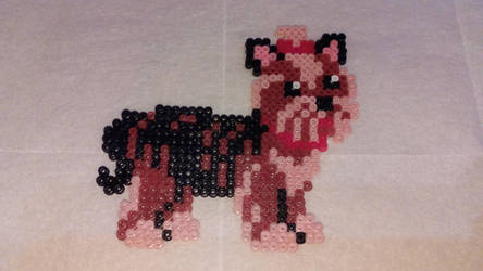 Yorkshire Terrier in Hama beads by Byakko92