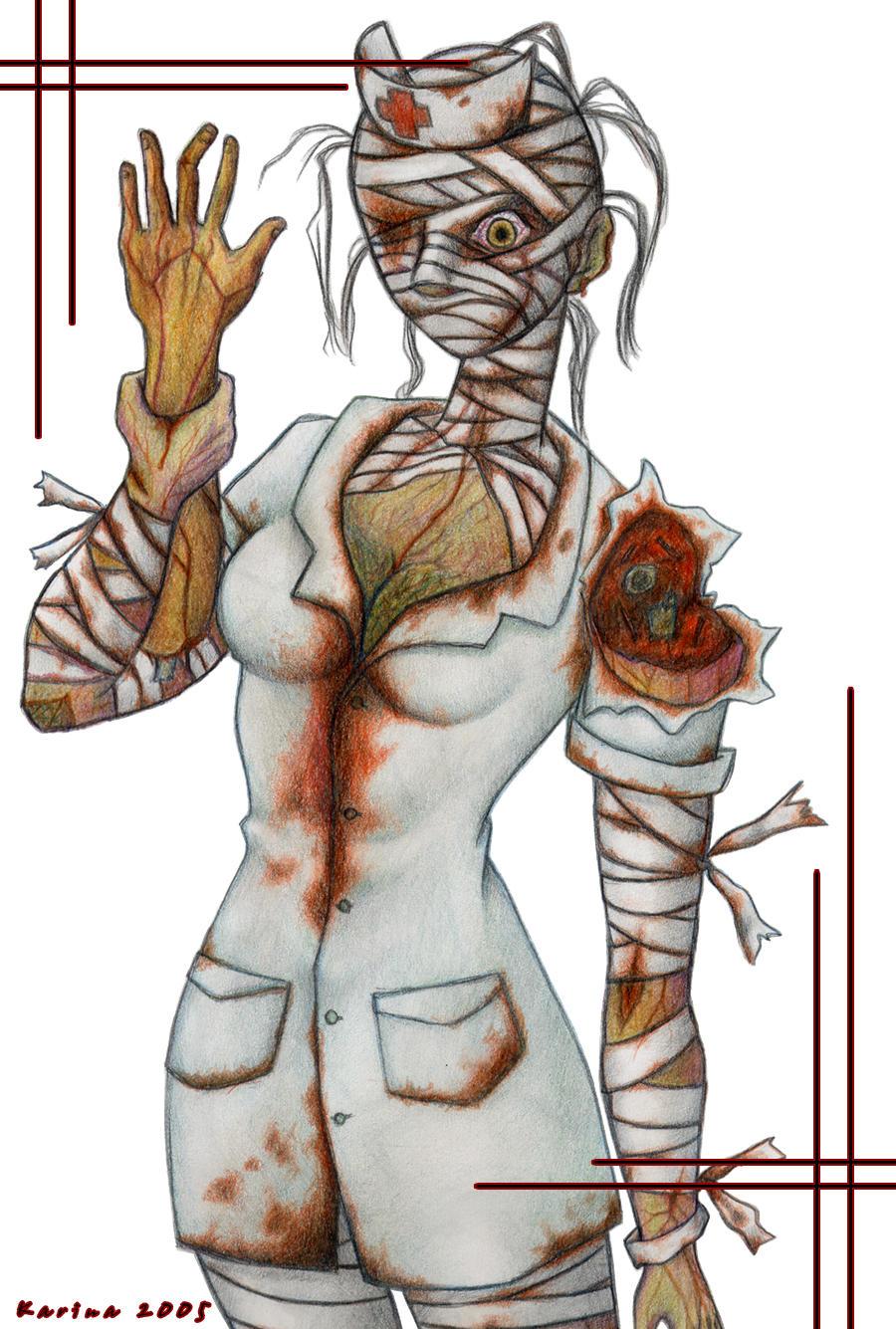 Silent Hill  Enfermera by HotaruAlbatou on DeviantArt