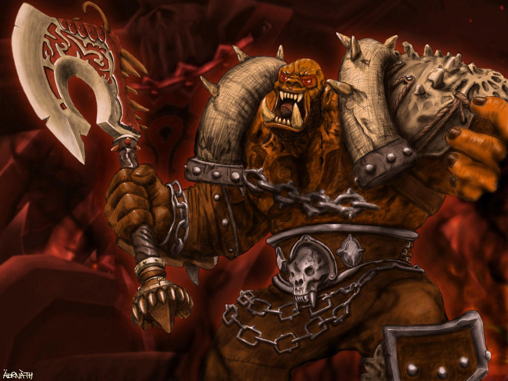 Hellscream by aernath