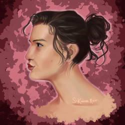 Portrait Study by SLKuhnsArt