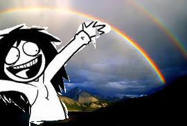 Jeff Double Rainbow! (read Description) by jeffthekiller12