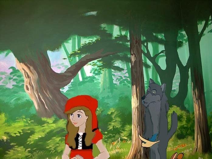 little red riding hood cartoon movie № 261165