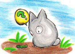 It's a Totoro -- Kinda.. by kattlegnat