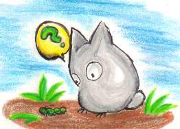 It's a Totoro -- Kinda.. by kattlegnat