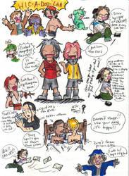 Midnight OP Doodles from HELL by kattlegnat