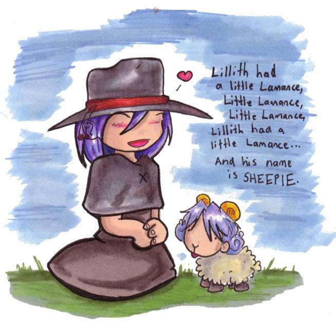 LB -- Lillith Had A Lamance... by kattlegnat