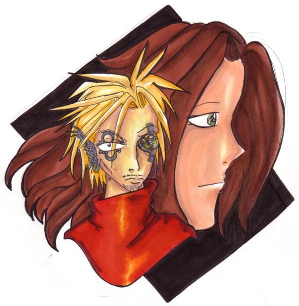 OC -- Esu and Arawn for Sparky by kattlegnat