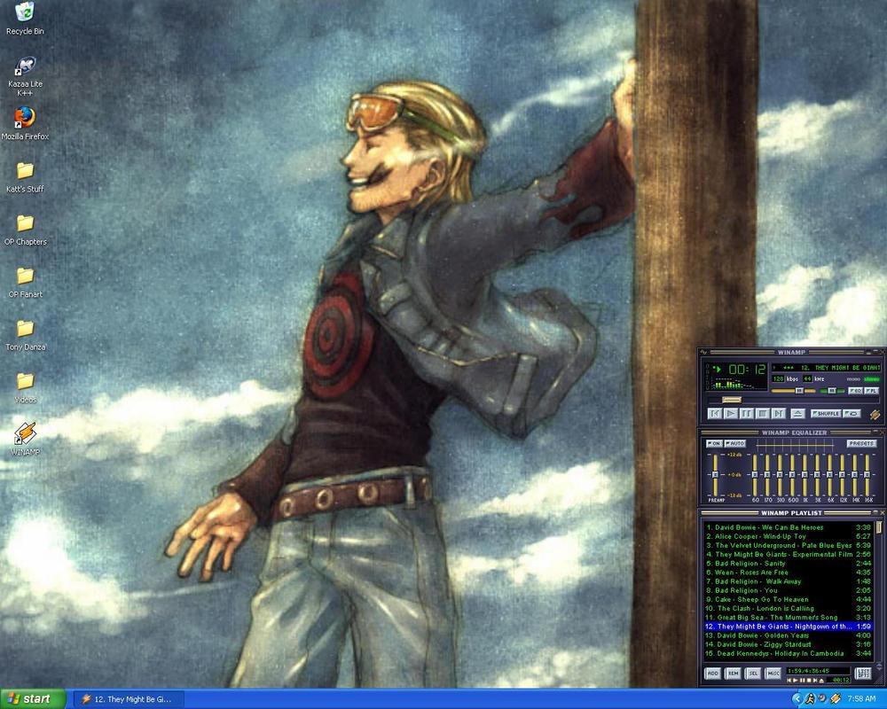 Katt's Desktop Version 2 by kattlegnat