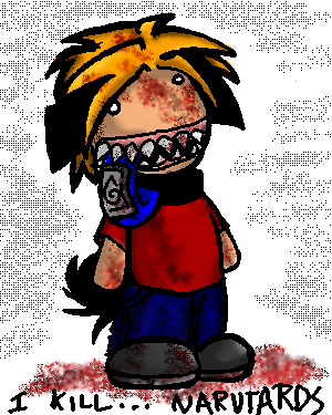 I Kill... Narutards by kattlegnat