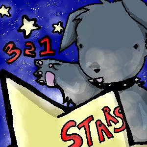 3 2 1 STARS by kattlegnat