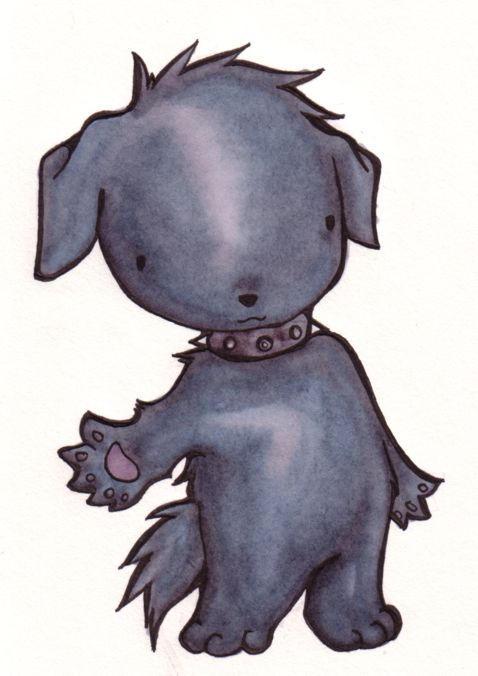A Fuzzy Hello by kattlegnat