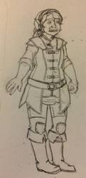 Terra Bloodgood, Half-orc Cleric, total sweetheart