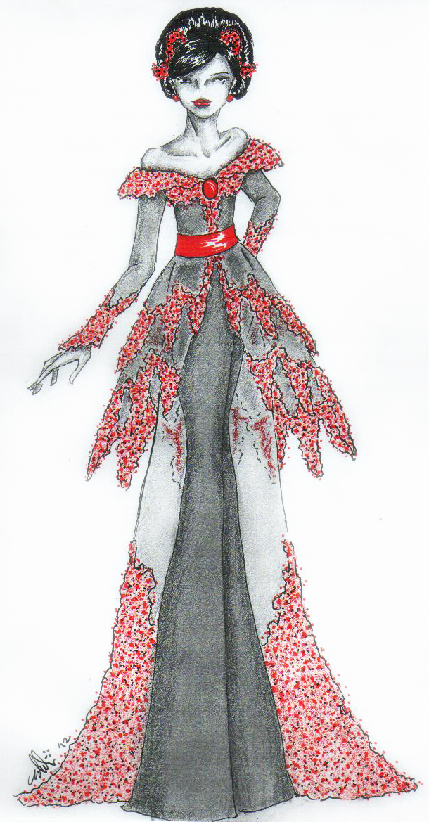 Modern Kebaya 1 by Bdellian